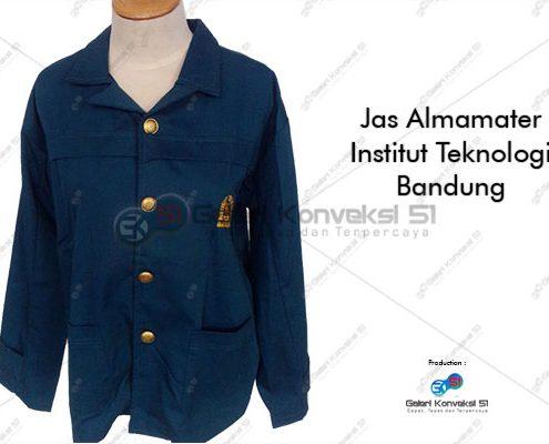 jas almamater biru Bandung