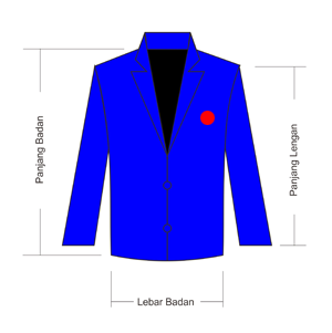 Desain Jaket Almamater Murah