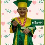 contoh baju toga wisuda anak di malaysia