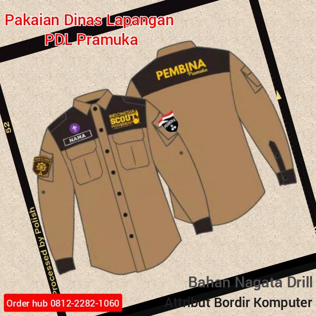 baju seragam Pramuka PDL
