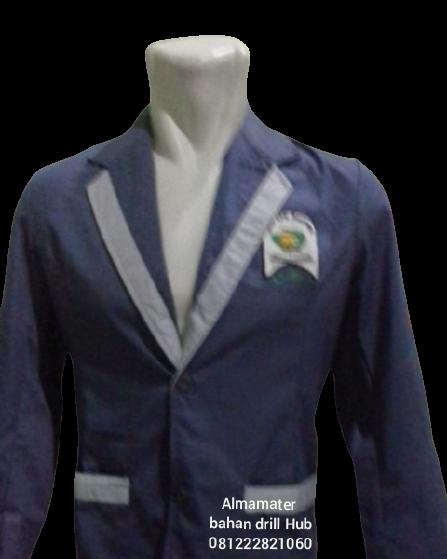 jaket almamater sekolah di bontang