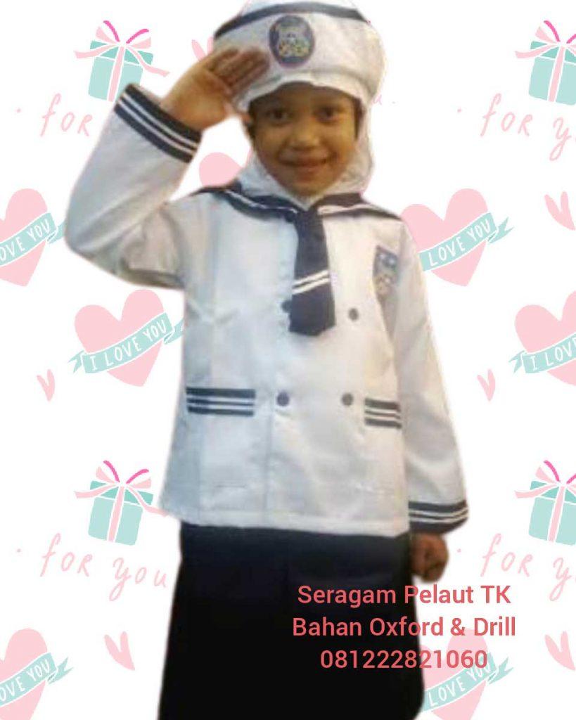 jual seragam angkatan laut anak TK