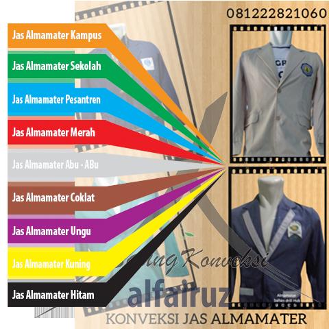 Jaket ALmamater Sekolah
