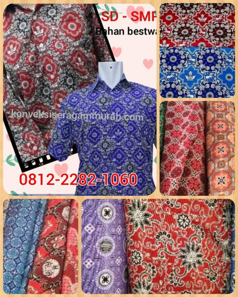 konveksi sergam batik murah tangerang