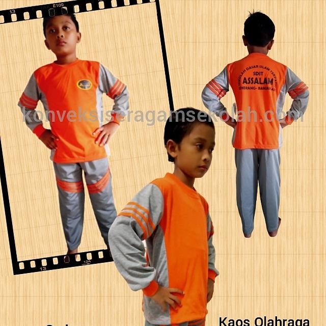 jual seragam olahraga sekolah SDIT