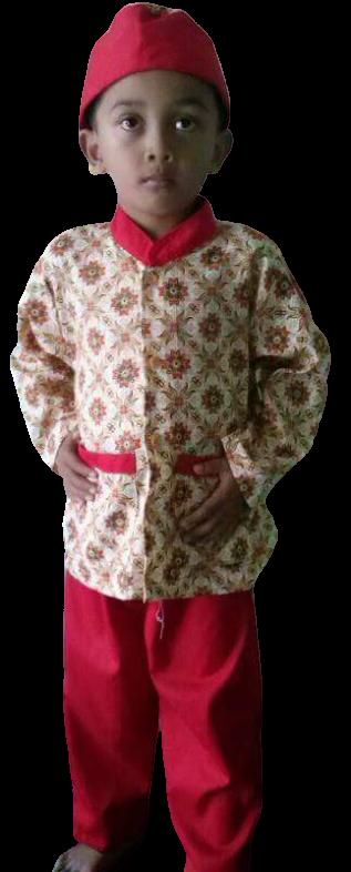 model seragam batik sekolah SD