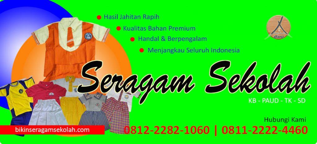 konveksi seragam sekolah murah di Tangerang