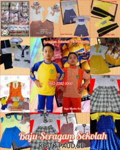 terbaru harga baju seragam sekolah anak SDIT di Serang Banten termurah sangat murah