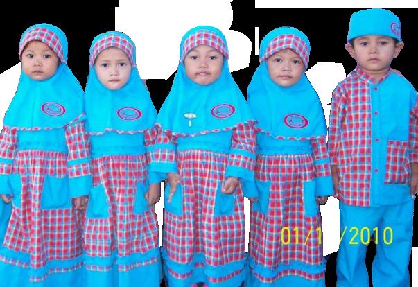 konveksi seragam muslim anak SDIT di Serang Banten