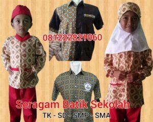 jual baju seragam sekolah batik murah di Serang Banten