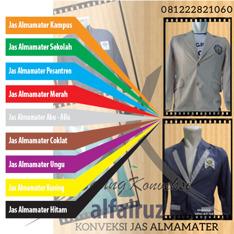 Harga jaket almameter SMA