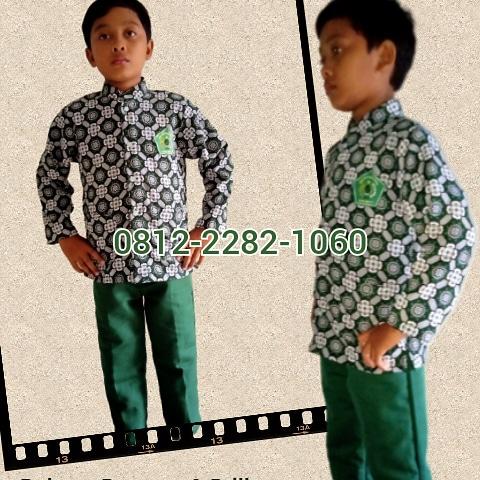 toko seragam batik sekolah anak MI