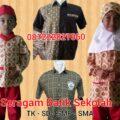 contoh model seragam anak sekolah di Bima
